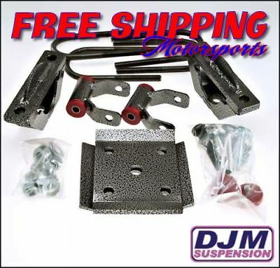 """2015 Ford F-150 5"""" Complete rear lowering kit by DJM"""