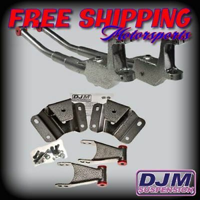 1987 - 1996 Ford F-150 3/4 Complete Lowering kit by DJM