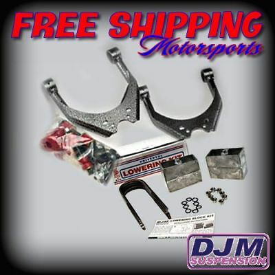 1995 - 2004 Toyota Tacoma Complete 3/4 Lowering kit by DJM