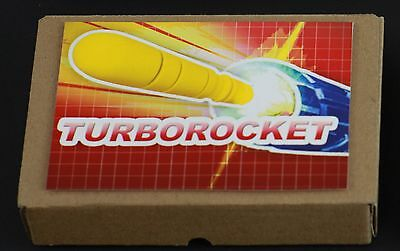 Transformers G2​ Parts 1991 THUNDERCLASH missile rocket yellow turbomaster EURO