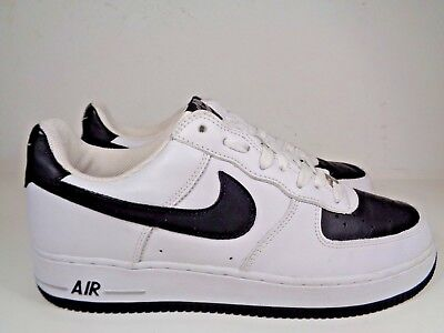 Mens Nike Air Force 1 White Black Neutral Basketball shoes size 11 US  306353-103 ccfc97b044ba