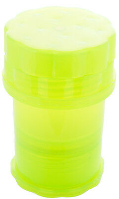 MedTainer Storage Container w/ Built-In Grinder - Solid Color