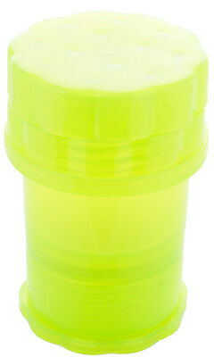 Storage Container w/ Built-In Grinder - Solid Color