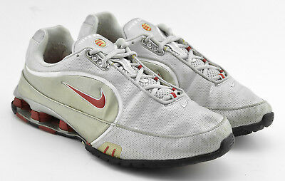 092b1c85a3a Womens Nike 2004 Vintage Shox Running Shoes Size 9.5 Electric Silver Red  309370