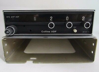 Collins RCR650 ADF Receiver P/N 622-2091-001 W/ Tray - Overhauled 8130