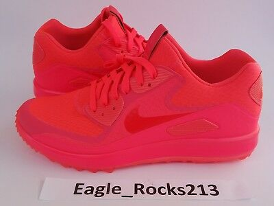 025cd92e27 Nike Air Zoom 90 IT Golf Rory McIlroy Mens Solar Red Neon Size 9 844569  Shoes