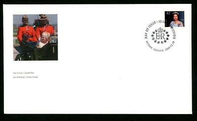 CANADA ~ 2000 QUEEN ELIZABETH II Definitive FDC; Scott # 1683 ~ FREE SHIPPING