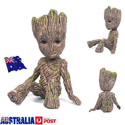 Guardians of The Galaxy Baby Groot Figure Flowerpot Pen Pot Toy Gifts 6CM MN