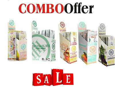 "High Hemp Organic Wraps COMBO DEAL - ""ALL FLAVOURS O/H/M/L/G"""