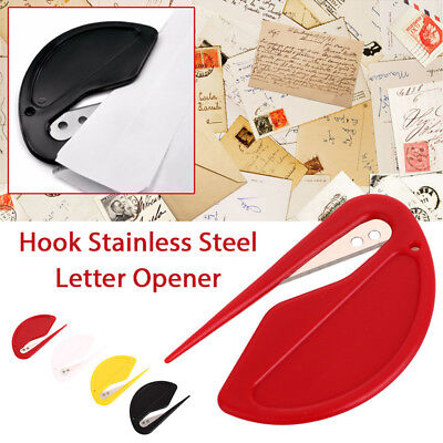 2pcs/lot Open Letter Cutter Envelope Opener Blade Office -Free Fast Shipping