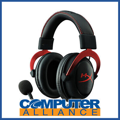 Kingston HyperX Cloud II Gaming Headset - Red PN KHX-HSCP-RD