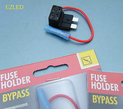 Add A Circuit Piggy Back Standard Blade Fuse Holder Brand New