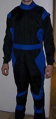Kart Suit       Super Sell Out      Size 56  -  58   Blue And Black   Rrp $250