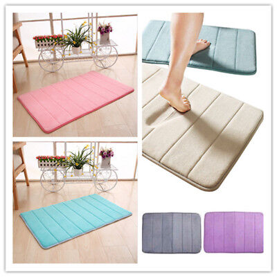 Memory Foam Soft Bathroom Bedroom Bath Mat Floor Rug Carpet Aniti Slip Quality