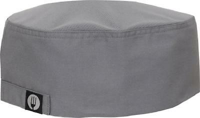 Chef Works Mens Cool Vent Chef Beanie Gray One Size