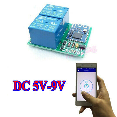 DC 5V Bluetooth Relay Switch Module Wireless Mobile Phone APP Remote Control