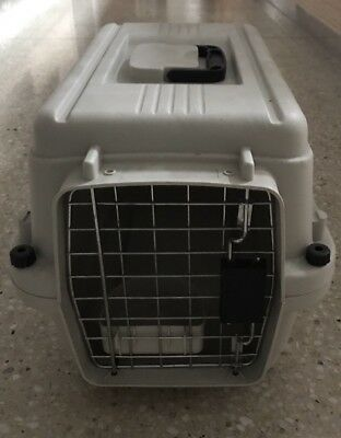 Pet Cat Small Dog Carrier Transporter Cage For Travel Exc Condition