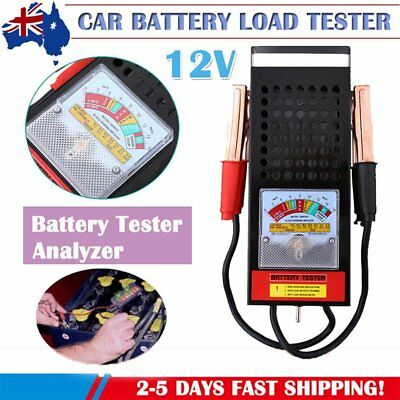 6V 12V Volt Battery Load Tester 100 AMP Truck Boat Bike Car Tester Diagnostic OM