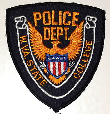WEST VIRGINIA STATE COLLEGE INSTITUTE WV Police Patch UNIVERSITY CAMPUS POLICE