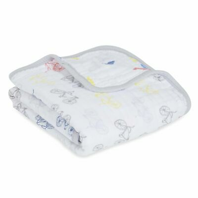 aden and anais baby muslin stroller,pram,mini blanket bunny rug: leader of pack