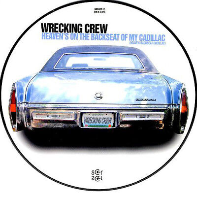 "12""DJ Dag Vinyl House -Wrecking Crew-Heaven-Backseat-Cadillac(Picture Disc RARE)"