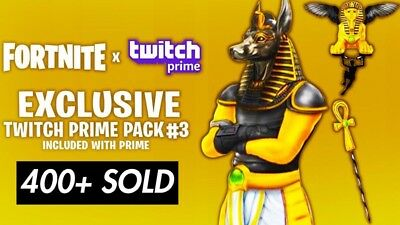 FORTNITE TWITCH PRIME Pack #3 Ps4/Xbox/Pc Relisted