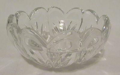 'Marquis By Waterford' Romance Collection Crystal Scalloped Heart Bowl Heavy
