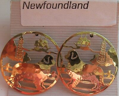 Touchstone Jewelry, Post Earrings for the Newfoundland Lover