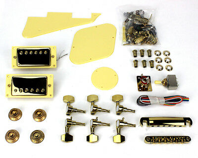 Pit Bull Guitars LP-1 Pickup and Hardware Upgrade - Gold