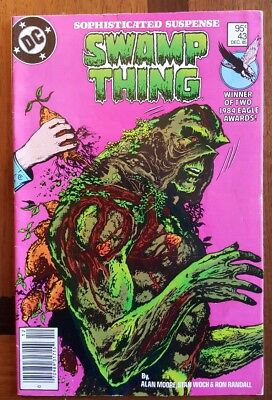 Swamp Thing 43 Canadian Price Variant DC comic 1985 ~F