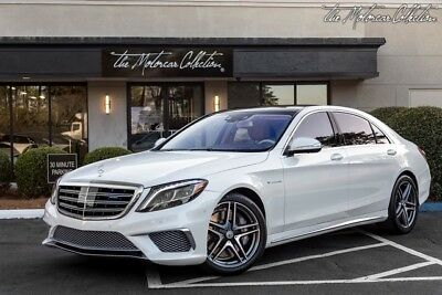 2015 Mercedes-Benz S-Class S65 AMG MSRP $228,410.00 EXECUTIVE REAR SEAT PACKAGE WITH REAR ENTERTAINMENT