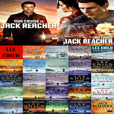 Jack Reacher ~ the Complete Collection of 23 AudioBooks / 2 Films on USB Drive