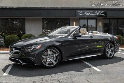 2017 Mercedes-Benz S-Class S63 AMG Cabriolet THIS SEXY S63 AMG JUST ARRIVED WITH A HUGE WINDOW STICKER OF $193,675 MSRP