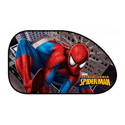2 x Spider-Man Large Disney Car Sun Shade UV Kids Baby Children Window Visor XL1