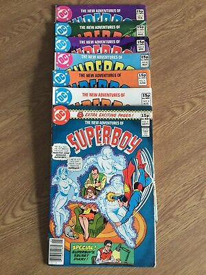 DC COMICS NEW ADVENTURES OF SUPERBOY 1980 Issues 2,3,4,5,6,8,9