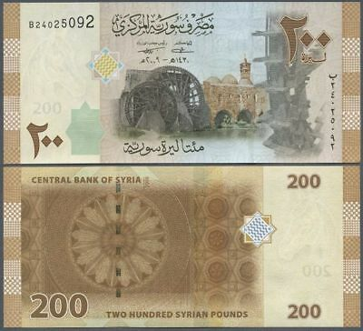 ### Syria - P114 - 2009(2010) - 200 Pounds