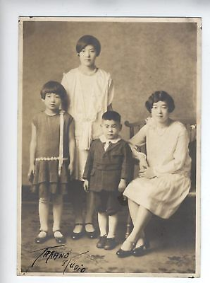 RARE VINTAGE JAPANESE American Seattle Washington photo signed Takano  Studio !