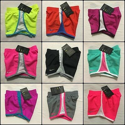 Nike Girls Shorts Size 2T, 3T, 4T Blue, Pink, Black Athletic $20 Summer Dri-Fit