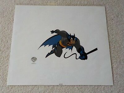 Original 1995 Warner Bros. BATMAN The Animated Series Cartoon SeriCel Cel Cell ~