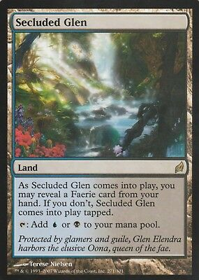 Secluded Glen - Rare Lorwyn MTG Magic Card