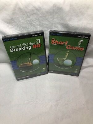 Breaking 80 & Short Game - Golfing Teaching Software For Men NEW
