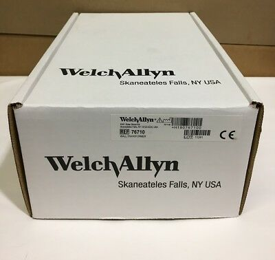 Welch Allyn 767 Wall Transformer for Otoscope, Opthalmoscope # 76710 - NEW