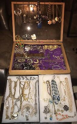 Vintage to Now Large Lot of Gold & Silver, Stones, Beaded Jewelry & Accessories!
