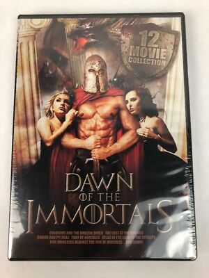 Dawn of the Immortals: 12 Movie Collection [3 Discs] DVD Region 1 Fast Free Ship