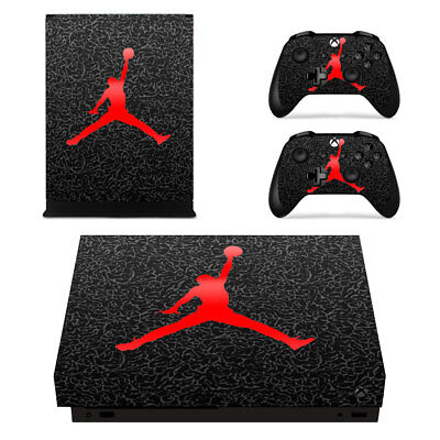 Basketball Legend Vinyl Cover Skin Sticker for Xbox One X Console 2 Controllers