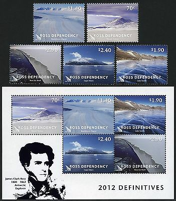 Ross Dependency 2012 Antarktis Landschaften Antarctic Landscapes Gletscher MNH
