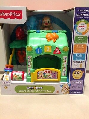 BNIB FISHER PRICE Laugh & Learn Smart Stages Activity Zoo