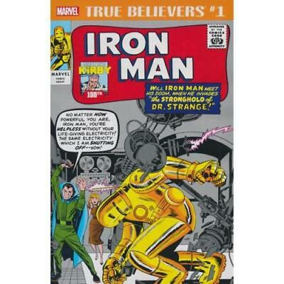 True Believers Kirby 100th Iron Man #1 - New/Unread