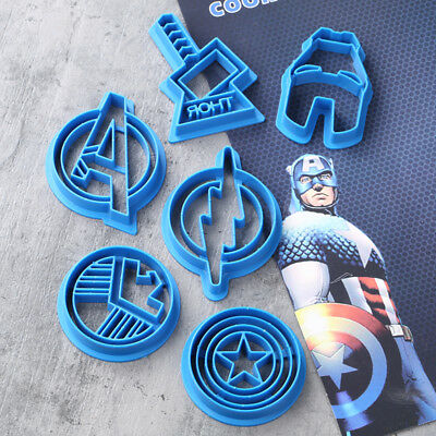 Avengers Batman Superman Cookie Cutter Sugarcraft Cake Decoration Molds
