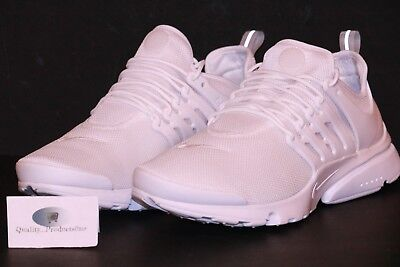 cacd3d633d01 Nike Women s Air Presto Ultra BR White Low Top Running Shoes 896277 100 Sz  12